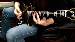Ozzy Osbourne Zakk Wylde Fire in the Sky Guitar Cover.  Best viewed in HD 720p