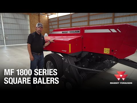 1800 Series Small Square Balers