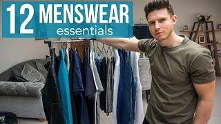12 MENSWEAR ESSENTIALS | Building An Affordable Wardrobe | Men