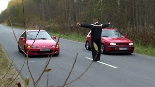 Golf III GTi vs Civic