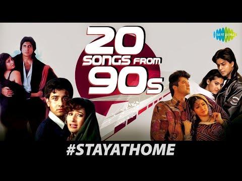 #StayHome | Enjoy 20 Songs From 90s | Mera Chand Mujhe |Sajan Sajan Teri Dulhan | Ek Ladki Ko Dekha