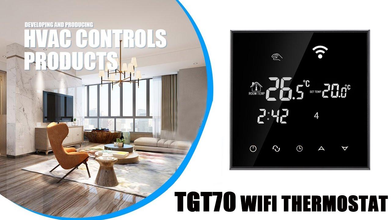 Wi-Fi Smart Thermostat - Beok Controls