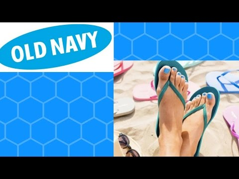 OLD NAVY FLIP FLOP SALE ANNOUNCED