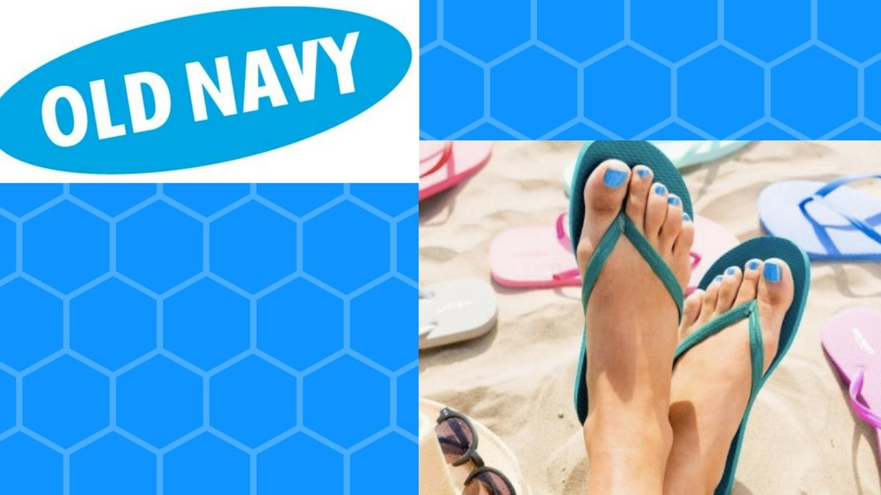 OLD NAVY FLIP FLOP SALE ANNOUNCED - YouTube