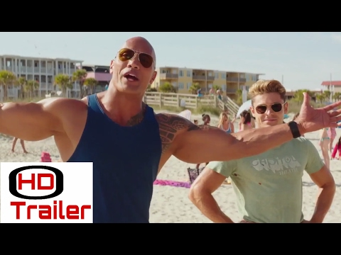 BAYWATCH Official  Slow  Trailer 2017 Dwayne Johnson  Alexandra Daddario Comed