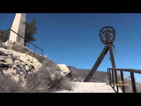 Conjunto de máquina de vapor minera en Sierra Almagrera