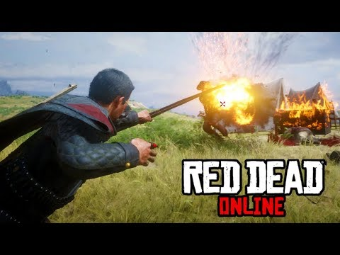 Play Stupid Games, Win Stupid Prizes - Red Dead Online Frontier Pursuits Update Bounty Hunting