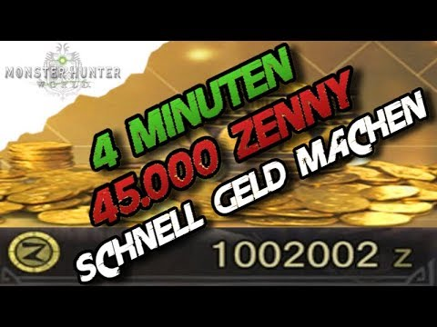 monster hunter world schnell geld machen 4 min zenny deutsch german mh youtube. Black Bedroom Furniture Sets. Home Design Ideas