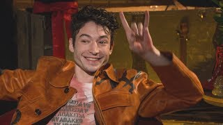 Ezra Miller Fantastic Beasts: The Crimes of Grindelwald Interview with Claudia Kim