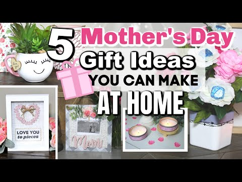 DIY MOTHER'S DAY GIFTS YOU CAN MAKE AT HOME | 5 Dollar Tree DIY Mother's Day Gift Ideas 2020