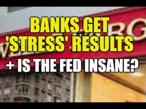 BANK STRESS RESULTS ARE IN, FED SAYS PRICES ARE NOT RISING, HUGE SELLOFF = TIME TO BUY