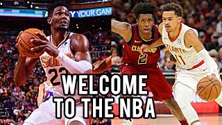"NBA ""Welcome To The NBA"" Moments (2018 Draft Class Edition)"