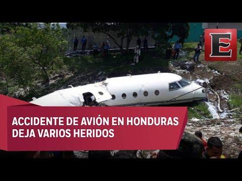 ÚLTIMA HORA: Accidente aéreo en Honduras deja 6 personas lecionadas