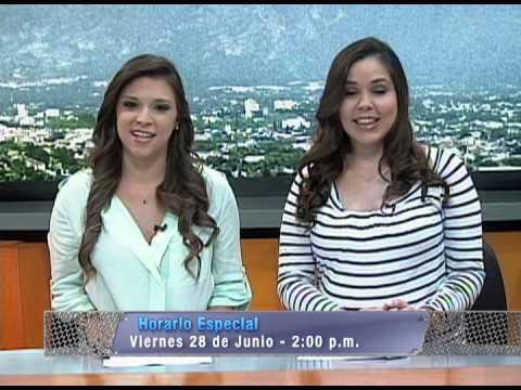Horario Especial Noticias 4 Visión.
