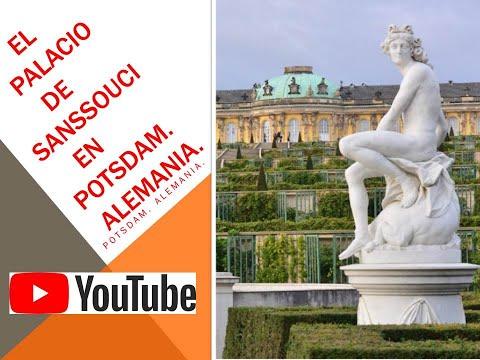 EL PALACIO DE SANSSOUCI EN POSTDAM. Alemania