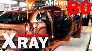 Экскурсия по линии B0 производства автомобилей XRAY (АвтоВАЗ г. Тольятти)