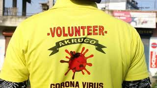 All Kongba Road United Club Organisation (AKRUO) Covid Fighters In Action