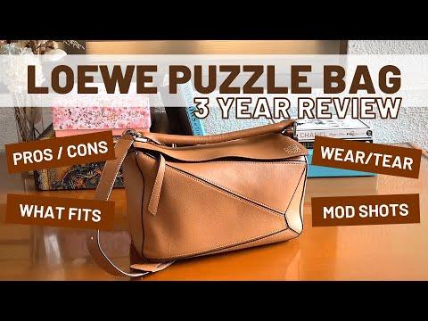 3 Year Review | Loewe Puzzle Bag Medium