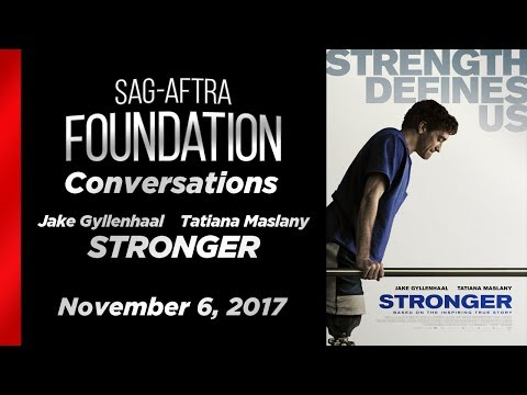 Conversations with Jake Gyllenhaal and Tatiana Maslany of STRONGER