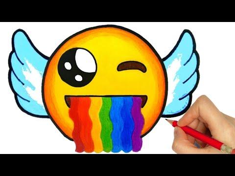 HOW TO DRAW EMOJI | DRAWING EMOJI, How To Draw Emoticon | How To Draw Emoticon Easy Step By Step