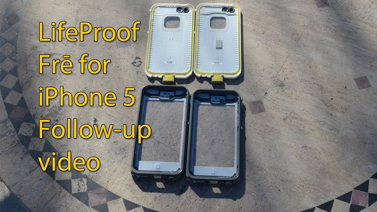 huge discount c9a11 a3f23 LifeProof for iPhone 5 follow up video - Problem Solved! - 1080p HD