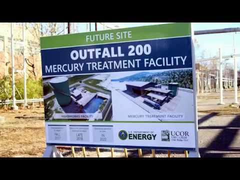 Y-12 Mercury Treatment Facility groundbreaking