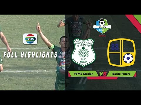 PSMS Medan (3)vs (2) Barito Putera - Full Highlight | Go-Jek Liga 1 Bersama Bukalapak
