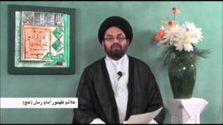 The Sings Of Reappearance Of The IMAM MAHDI AJTF Part 17 By Allama Syed Shahryar Raza Abidi