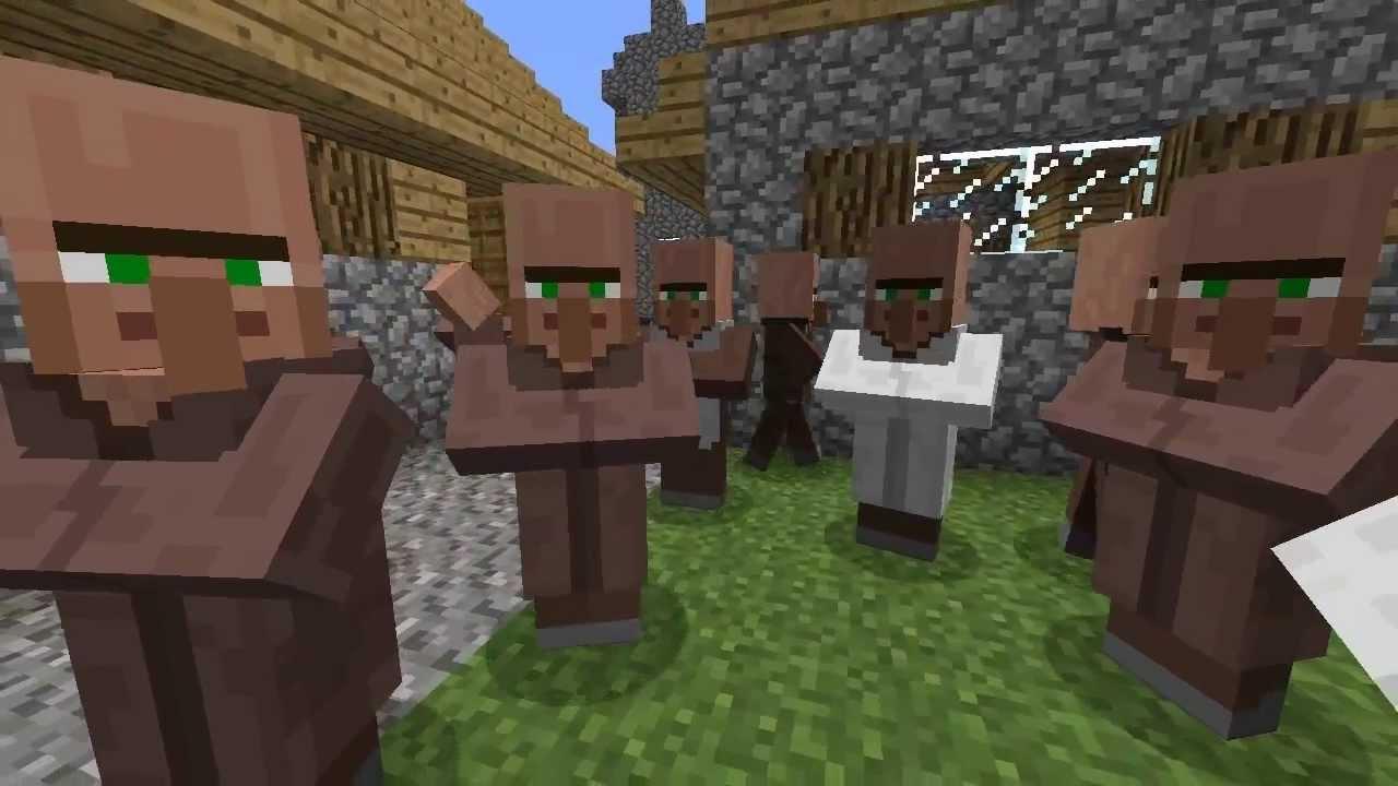 Minecraft: LATEST! VILLAGERS FINALLY TALK!! Squidward is ...