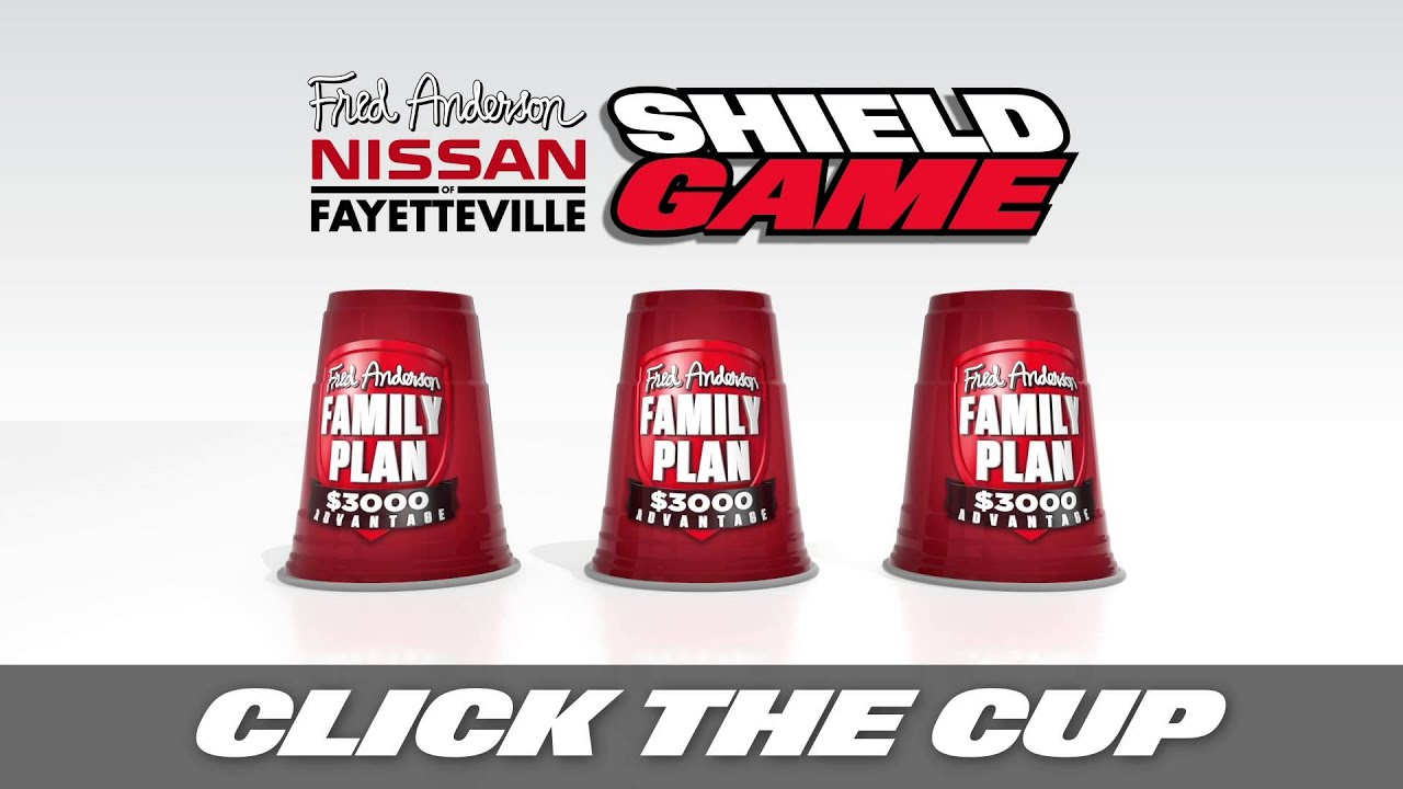 Fred Anderson Nissan >> Fred Anderson Nissan of Fayetteville - Shield Game - YouTube