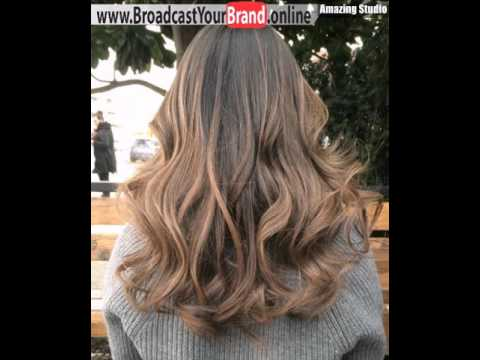 Dark Brown Hair With Light Ombre