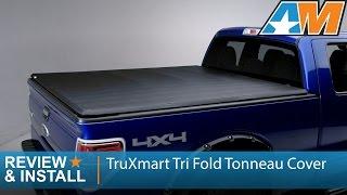 2009 2014 F 150 Truxmart Tri Fold Tonneau Cover Review Install