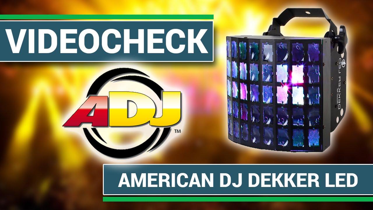 American DJ Dekker LED - Der beste LED Effekt für DJs