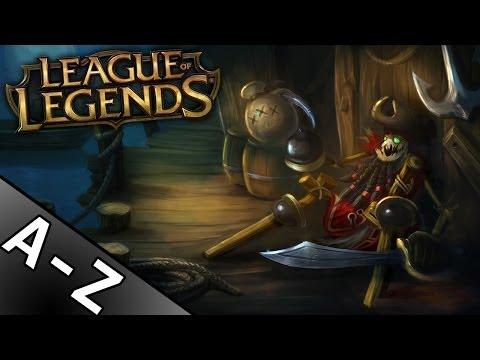 A-Z League of Legends: Fiddlesticks - FUUU RAGE WYCARRUJE? (shiver me timbers)