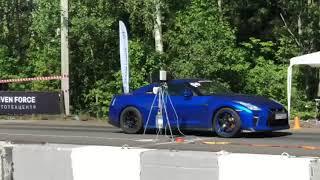 SRS ViVA 1 synth racing 5W-50 на Nissan GT-R после 5000км