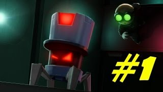 Stealth Inc.: A Clone In the Dark Walkthrough Part 1 Gameplay Review Lets Play Playthrough
