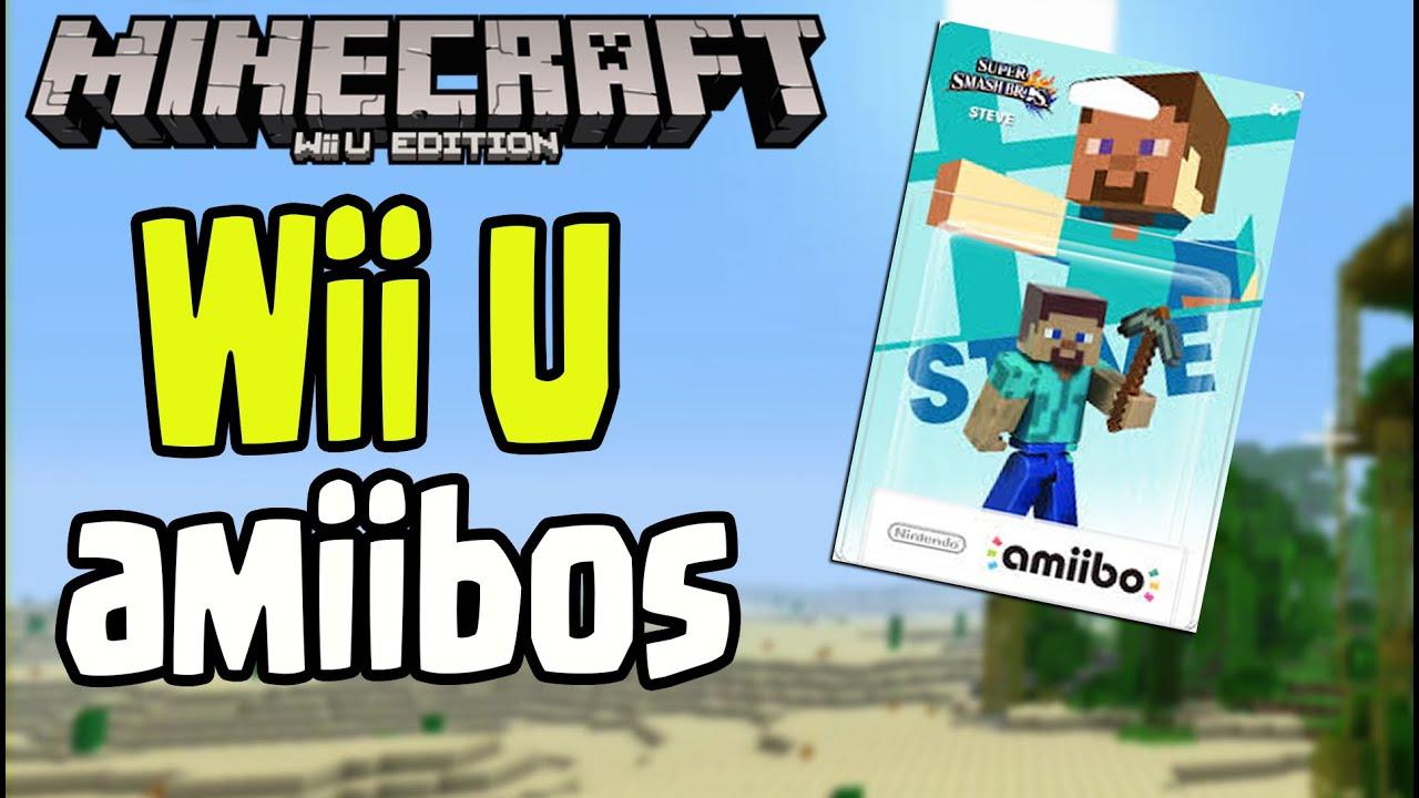 Minecraft Wii U Amiibo Skin Packs Texture Packs DLC YouTube - Skins para minecraft wii u