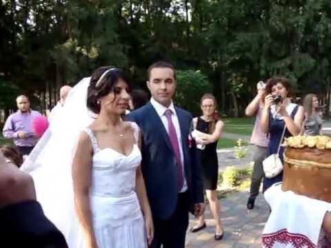 Хлеб соль на свадьбе