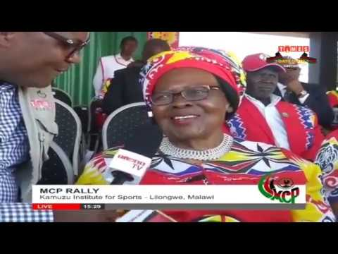 Malawi Congress Paty (MCP) Rally at Kamuzu institute for Sports in Lilongwe