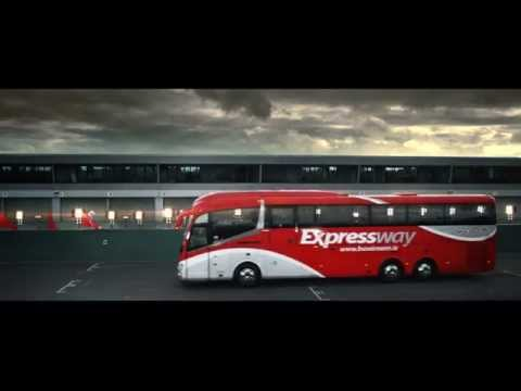 Expressway - Like the car. Only better. New TV Ad Bus Éireann