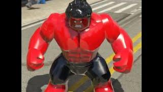 Прохождение игры лего MARVEL Super Heroes. 36 серия КРАСНЫЙ ХАЛК