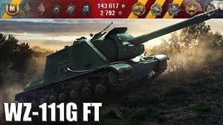 wZ-111G FT медаль Колобанова, 9 фрагов  Китайская ПТ-САУ 9 уровень  World of Tanks лучший бой