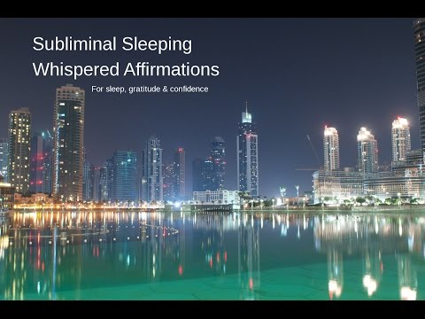 Subliminal Sleeping Whispered Affirmations | Confidence | Gr