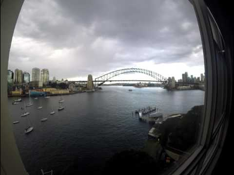 Sydney Harbour via McMahon Point on Gopro Hero 4 Timelapse