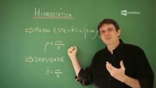 RESUMO DE HIDROSTÁTICA | Física para o ENEM | Descomplica