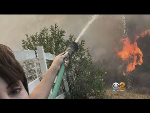 Bell Canyon Residents Who Stayed Behind Recall Woolsey Fire Destruction