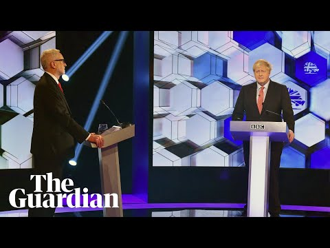 BBC debate: Corbyn accuses Johnson of making 'racist remarks'