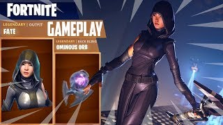 NEW LEGENDARY FATE SKIN & WEEK 8 BATTLESTAR - Fortnite Battle Royale