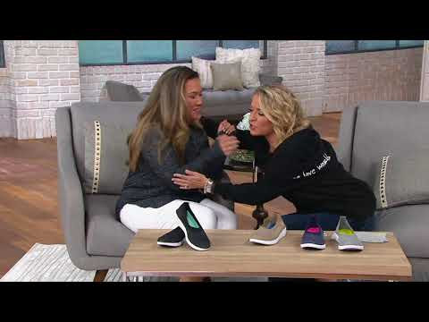 Ryka Heather Knit Slip-On Shoes - Nell on QVC