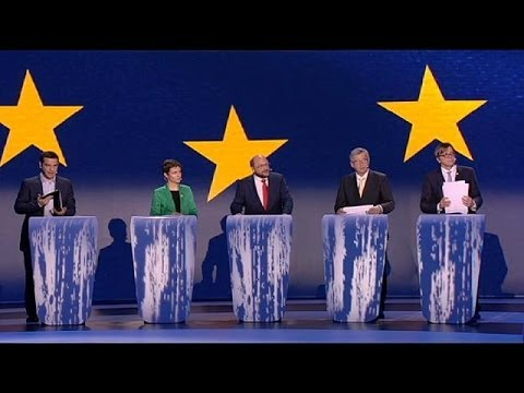 Five go live in EU Commission President TV debate